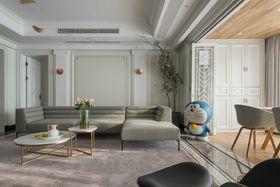 140平米四室兩廳現代簡約風格客廳圖片大全