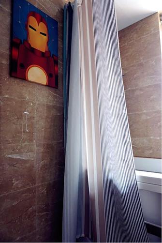 140平米三室两厅英伦风格卫生间装修效果图