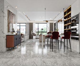 130平米公寓现代简约风格客厅图