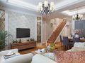 10-15万140平米复式欧式风格楼梯装修案例