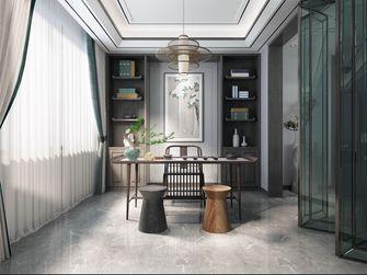 130平米四室两厅中式风格书房装修图片大全