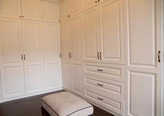 140平米四室五厅美式风格衣帽间图片