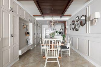 120平米三室两厅法式风格餐厅设计图