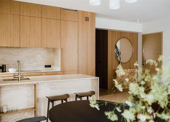 110平米三室一厅日式风格厨房装修效果图