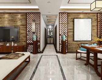 140平米三室一厅中式风格走廊图片