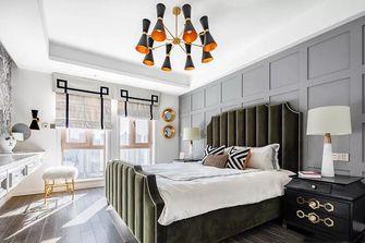 130平米三室两厅法式风格卧室装修案例