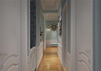 130平米三室两厅田园风格走廊装修效果图