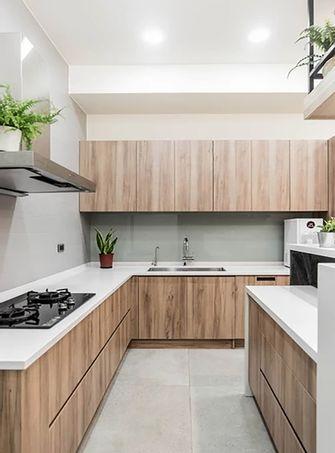 70平米宜家风格厨房装修案例
