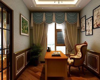 140平米四室一厅新古典风格书房图