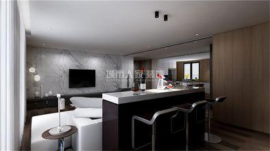 130平米四室两厅现代简约风格餐厅设计图