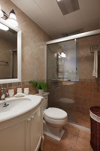 60平米美式风格卫生间装修图片大全