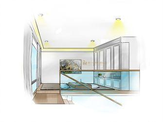 140平米复式北欧风格储藏室图片