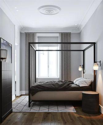 130平米三现代简约风格卧室装修案例