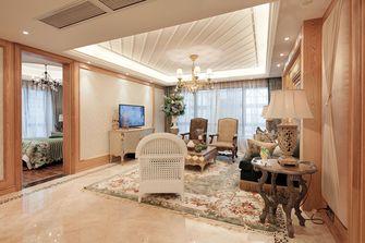 140平米一室一厅田园风格客厅装修效果图