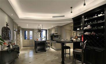140平米三室三厅美式风格厨房装修效果图