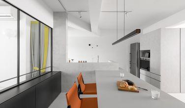 90平米三室一厅混搭风格餐厅效果图