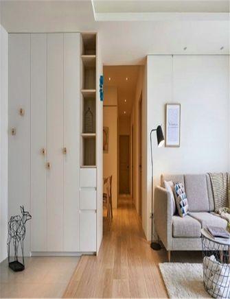 110平米三室一厅北欧风格客厅装修图片大全