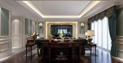 140平米别墅英伦风格影音室装修案例