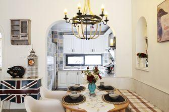 140平米三室两厅地中海风格厨房图片