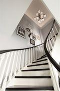 140平米别墅美式风格楼梯间欣赏图