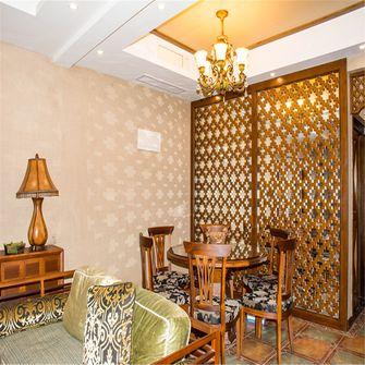 100平米三室两厅地中海风格餐厅设计图
