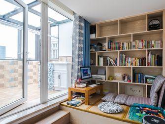 120平米三室两厅北欧风格书房图片