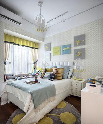 130平米三室两厅法式风格儿童房欣赏图