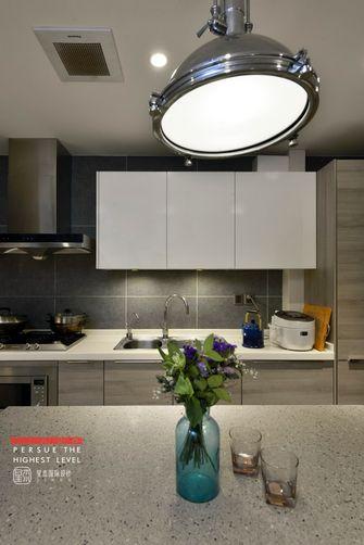 140平米三室两厅新古典风格厨房图片