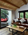 120平米三室一厅田园风格客厅装修案例