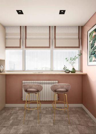 70平米公寓现代简约风格阳台欣赏图