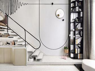 100平米三室两厅田园风格阁楼装修案例