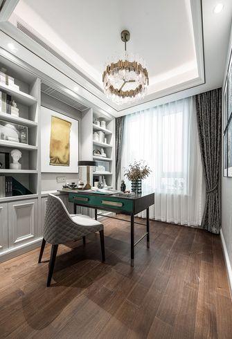 110平米三室两厅法式风格书房装修效果图