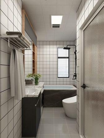 50平米公寓混搭风格卫生间装修案例