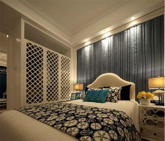 120平米三室三厅田园风格卧室装修图片大全