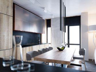 80平米北欧风格厨房设计图