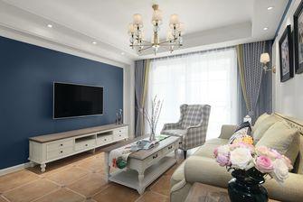110平米三室一厅美式风格客厅装修图片大全