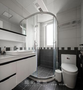 富裕型110平米四室两厅现代简约风格卫生间装修图片大全