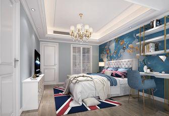 80平米三室一厅欧式风格卧室装修案例