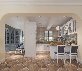 90平米一居室地中海风格餐厅装修图片大全