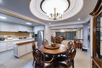 20万以上140平米三室两厅新古典风格餐厅图片大全