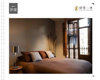 富裕型100平米一室一厅英伦风格卧室装修效果图