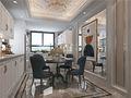 豪华型120平米四室一厅美式风格餐厅图