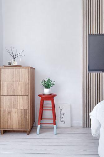 70平米一居室北欧风格卧室装修效果图