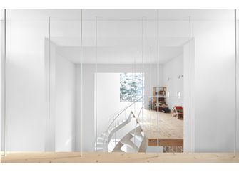 60平米公寓田园风格楼梯间装修案例