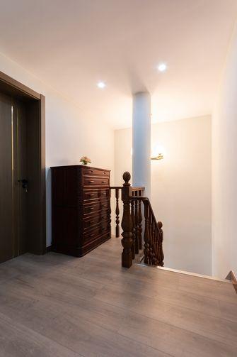 110平米三中式风格楼梯间图