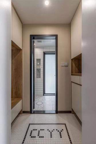 90平米三室两厅日式风格玄关图