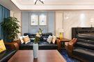 140平米四室三厅美式风格客厅装修效果图