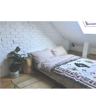 130平米复式欧式风格卧室设计图