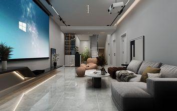140平米复式现代简约风格影音室装修图片大全