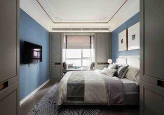 130平米三室两厅法式风格卧室装修图片大全